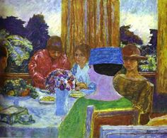 Teatime, 1917 ~ Pierre Bonnard ~ (French: 1867-1947)