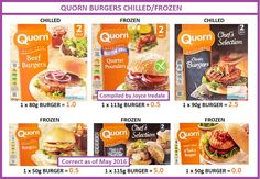 Slimming World Books, Slimming World Syn Values, Slimming World Syns, Slimming World Recipes, Quorn Recipes, Vegetarian Recipes, Snack Recipes, Quorn Burgers, Slimming Workd