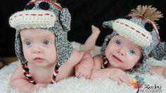 Crochet Sock Monkey Hat. $25.00, via Etsy.