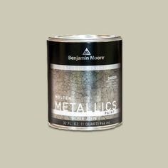 Give a table a hammered-metal finish with specialty paint. In copper, bronze, and four other faux metal looks, it adds sparkle to your home-furnishings scheme.     Molten Metallics, about $23 per quart; benjaminmoore.com