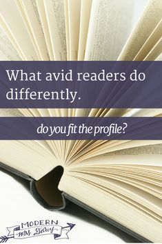 What avid readers do differently (and why 80% of books are bought by women—it's not what you think).