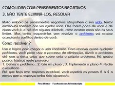 .: #Coachanaminuto COMO LIDAR C/PENSAMENTOS NEGATI...