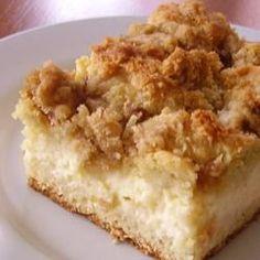 Polish Cream Cheese Coffee Cake Baking Recipes, Cake Recipes, Dessert Recipes, Food Cakes, Cupcake Cakes, Cupcakes, Cream Cheese Coffee Cake, Polish Recipes, Polish Food