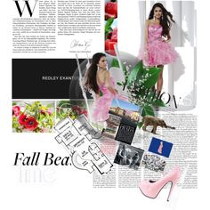 """2013 Hannah S 27806 Fuchsia Pink Homecoming Dresses"" by histand-kova on Polyvore"