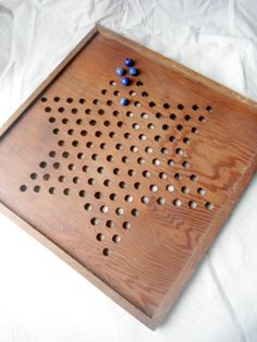 Vintage Chinese Checker Game Board by centralavenue on Etsy, $40.00