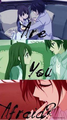 Vampire Knight, Yuki and Kaname
