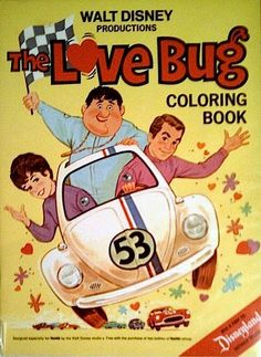 Shop for disney on Etsy, the place to express your creativity through the buying and selling of handmade and vintage goods. Disney Colors, Disney Love, Walt Disney, Disney Ideas, Vintage Coloring Books, Coloring Book Art, Volkswagen, Kdf Wagen, Book Activities