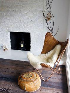 Cadeira BKF. Designer: Antonio Bonet. Juan Kurchan e Jorge Ferrari Hardoy.