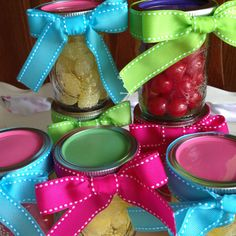 Day 62: birthday party favors
