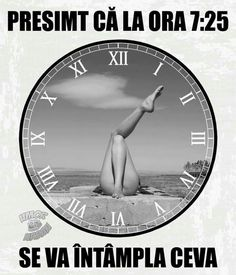 Da... Interesant... Haha, Comedy, Funny Pictures, Jokes, Humor, Clocks, Illustrations, Nice, Frases