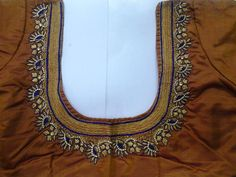 latest blouse embroidery designs