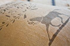 1840 Equestrian European Grain Sack Cushion cover - Atelier be - de Beauchêne & Cie.
