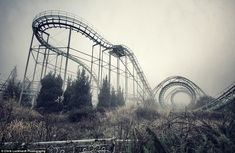 Land of nightmares: nspired by Disney, Nara Dreamland's fairytale castles and fairground rides now look sad and forlorn