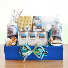 Refreshing Spa Gift Box.  See more gifts at www.pro-gift-baskets.com!