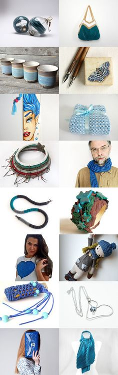 deep blue by Valentina on Etsy--Pinned with TreasuryPin.com