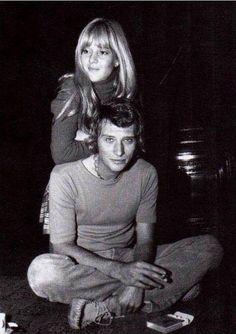 UN COUPLE MYTHIQUE ~ Johnny Hallyday and Sylvie Vartan.