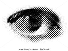 Halftone - A halftone is a pattern of dots used for reproduction of a continuous tone image.