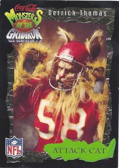 Derrick Thomas MONSTERS of the GRIDIRON by FloridaFindersSports, $3.00