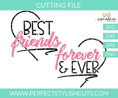 Your place to buy and sell all things handmade Bff Shirts, Family Shirts, Silhouette Portrait Projects, Silhouette Cameo Projects, Cute Friends, Best Friends, Matching Friend, Besties, All About Mom