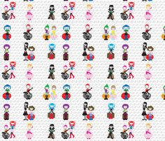 Go Go Girls fabric by kiwicuties on Spoonflower - custom fabric