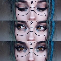 Witchy makeup