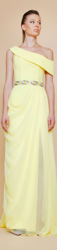 Georges Chakra Spring Summer 2015. women fashion outfit clothing style apparel @roressclothes closet ideas