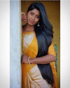 Indian Long Hair Braid, Braids For Long Hair, Desi Girl Image, Girls Image, Indian Hairstyles, Cool Hairstyles, Beautiful Blonde Girl, Long Black Hair, Super Long Hair