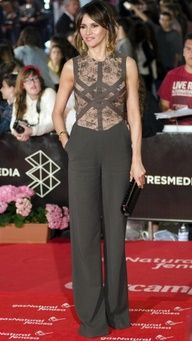 Goya Toledo in Elie Saab Ready-to-Wear S/S 2013 at the 16th Malaga Film Festival in Spain, April 2013