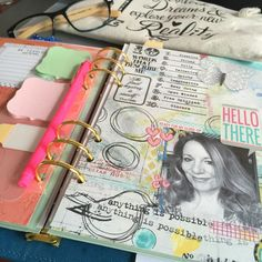 Planners – Don't Be too Overwhelmed to Start Planner Pages, Bujo, Digital Scrapbooking, Planners, Create Your Own, Mixed Media, Doodles, Join, Artsy