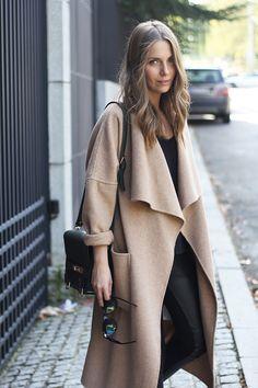 cozy oversized coat