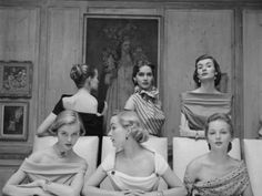 The Fabulous Necklines Of The 50's