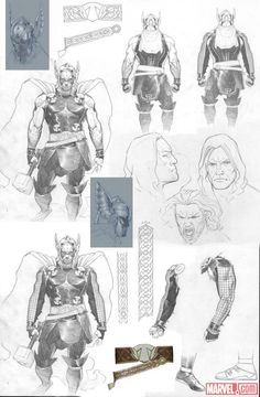 Thor (Present) by Esad Ribic [ Thor God of Thunder ]