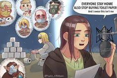 Attack On Titan Comic, Attack On Titan Season, Attack On Titan Ships, Attack On Titan Fanart, Eren Y Levi, Armin, Character Art, Anime Art, Fiction