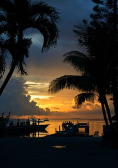 Beachside Sunset in the Keys ~ By Kelsey Crosby Nature Photography -