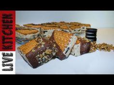 Το πιο εύκολο Παγωτό σάντουιτς OREO® Cookie Ice Cream Sandwich - Live Kitchen - YouTube Kitchen Living, Waffles, Sweets, Candy, Breakfast, Desserts, Youtube, Food, Sweet Pastries