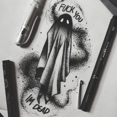 Glasgow Witch - 👻 Up For Grabs 👻 - Tattoo - dibujos terrorificos Creepy Drawings, Dark Art Drawings, Creepy Art, Cool Drawings, Pencil Drawings, Tattoo Sketches, Tattoo Drawings, Art Sketches, Kunst Tattoos