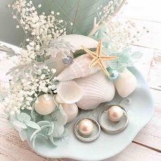リングピロー〔マーメイド〕完成品|商品画像2|結婚式演出の手作りアイテム専門店B.G. Beach Wedding Gifts, Wedding Gift Boxes, Wedding Crafts, Diy Wedding, Wedding Favors, Wedding Flowers, Wedding Ideas, Ring Holder Wedding, Ring Pillow Wedding
