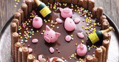 Was könnte es Schöneres geben als ein Bad in Schokolade? Da möchte man glatt zum Marzipanschwein werden in diese herrlich schokoladige Schokoladen ...