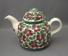 Arabia, teekannu, Purpuri-Jenkka, Ulla Procopé