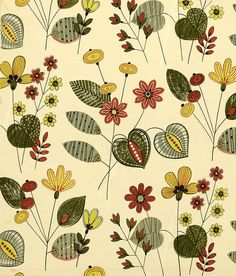 Image detail for -1950s original designs for wallcovering and textiles / part 3