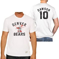 Andre Dawson Denver Bears Men s Short Sleeve Tee Minor League Baseball d7fa884c8