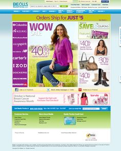 "Bealls Florida Website - ""WebSphere Commerce made"" #webspherecommercemade #ecommerce"