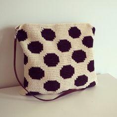Finally finished #crochet #polkadot #mollamills #kalalanka