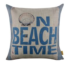 Design: On Beach Time. Cushion Cover CC855. Product name: Cushion Cover CC855. note:Cushion Cover only, Price is for 1pc. Or unpaid case will automatically opened to you. There are slight difference between the picture and the real item caused by light brightness. | eBay!