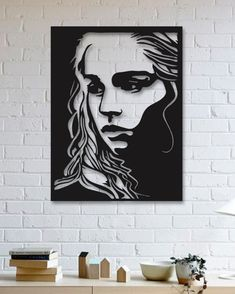 Game Of Thrones - Khaleesi - Metal Tablo