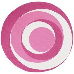 Playground Hot Pink Kids Round Rug Size: Round 8' by Surya Rug, http://www.amazon.com/dp/B005MY57UM/ref=cm_sw_r_pi_dp_ckz1pb176GNS6