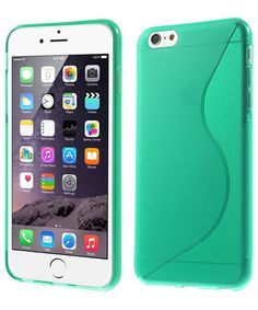 iPhone 6 Plus S-Cruve TPU Hoesje Cyaan