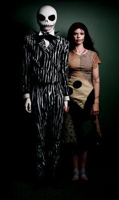 Самые страшные и креативные костюмы на хеллоуин (35 фото)