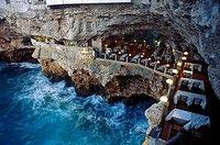 Restaurant Grotta, Palazzese, Polignano a Mare, Puglia, Italy