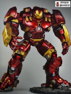The Avengers Age of Ultron Hulkbuster Marvel Select Scale (Marvel Select) Custom Action Figure